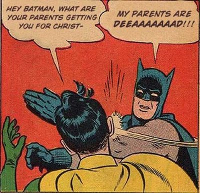 HOLIDAYS: MERRY CHRISTMAS from Batman and Robin! | Clio's blog