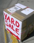 /yard sale sign/